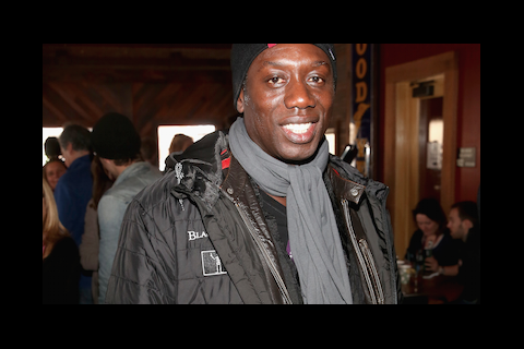 Hakeem Kae-Kazim at We Are UK Film reception, Sundance 2016